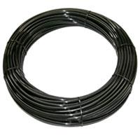 1-2 black tubing roll