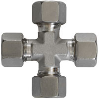 10 and 12 mm cross fitting
