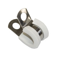5mm white clamp